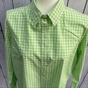 Joe Fresh Gingham Button Down